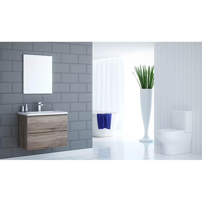 Tidal Bath Canada Vanity Combos With Mirrors Vanity Sets item I-304