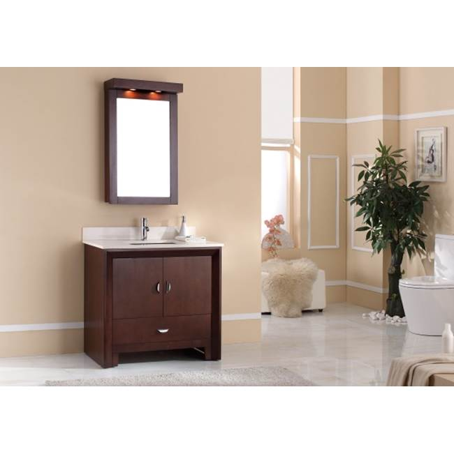 Tidal Bath Canada Vanity Combos With Countertops Vanity Sets item KDOC-376100-AW