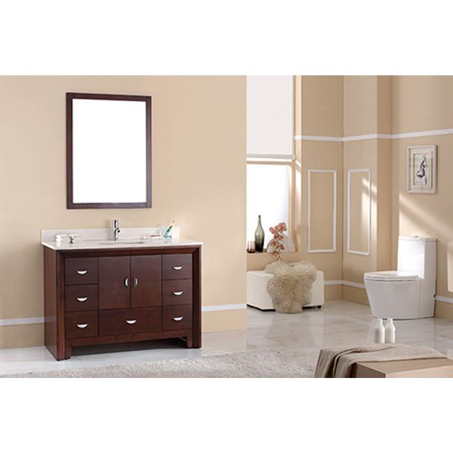 Tidal Bath Canada Vanity Combos With Countertops Vanity Sets item KDOC-496100-AW