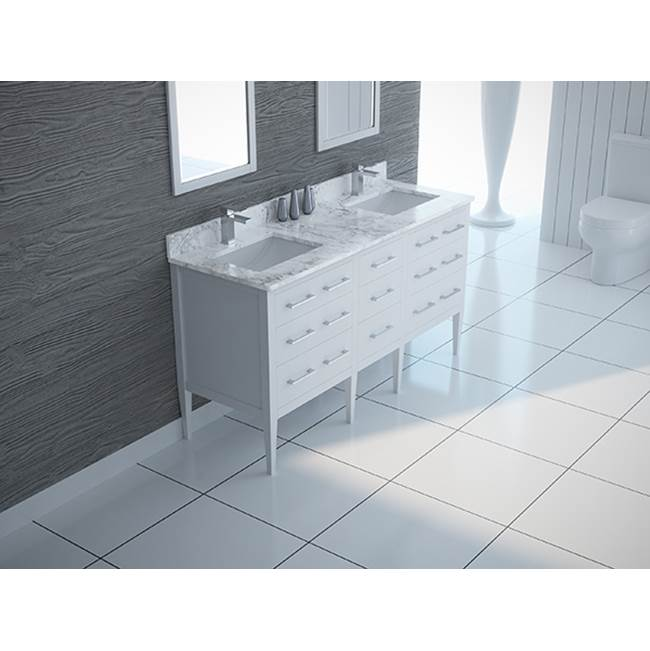 Tidal Bath Canada Vanity Combos With Countertops Vanity Sets item SYDC-613100-AW
