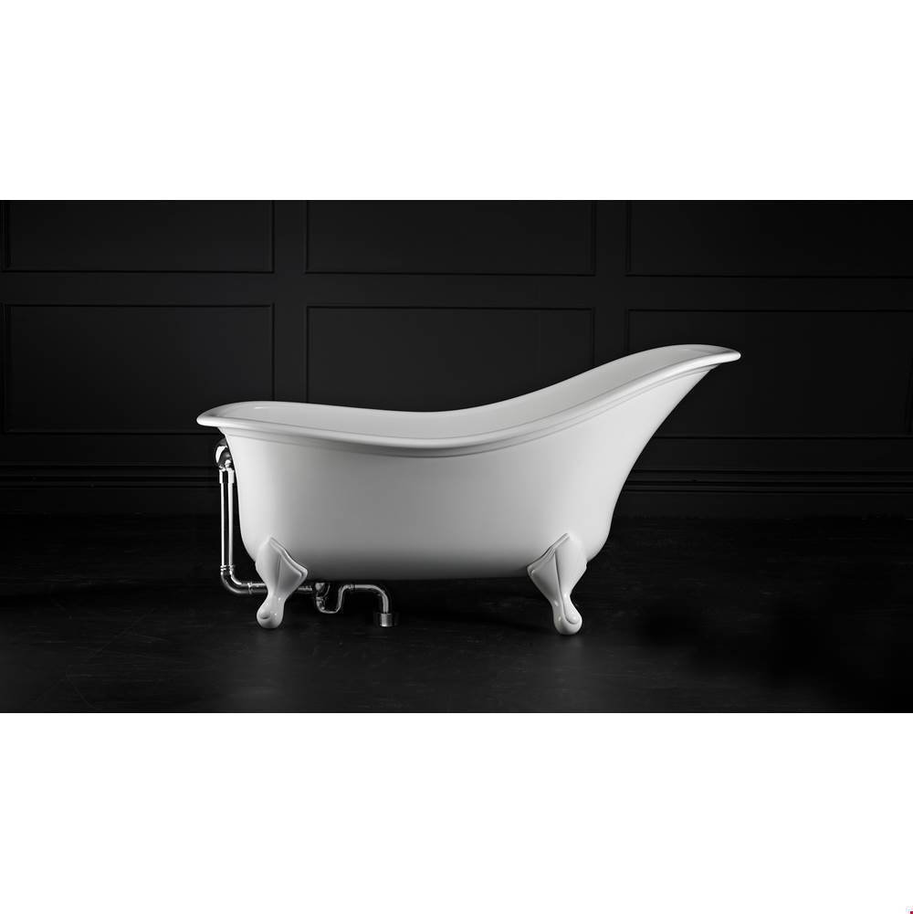 Victoria And Albert Free Standing Soaking Tubs item DRA-N-xx-OF + FT-DRA-WH
