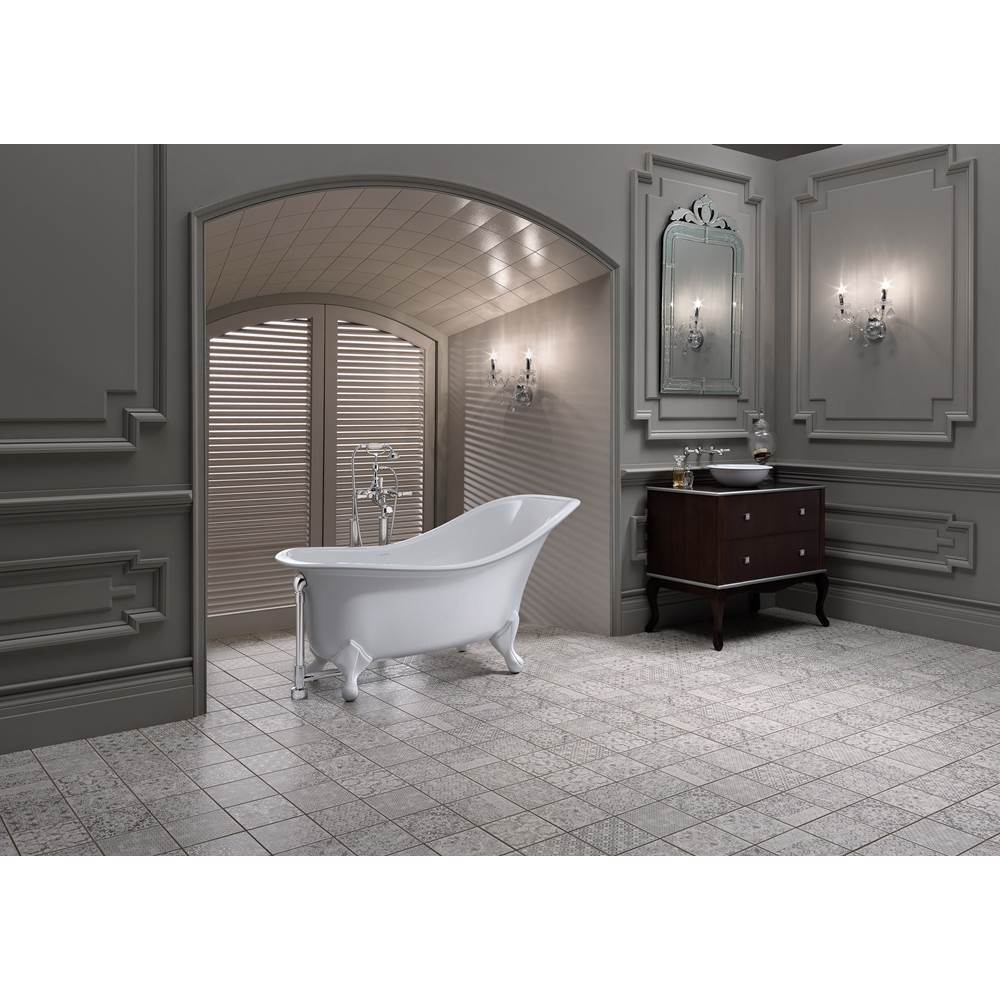 Victoria And Albert Free Standing Soaking Tubs item DRA-N-SW-OF + FT-DRA-SW