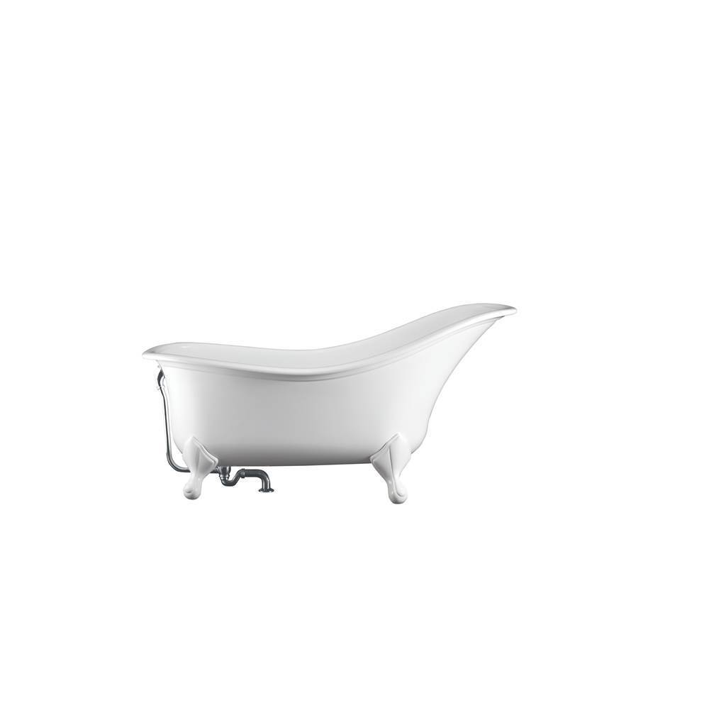 Victoria And Albert Free Standing Soaking Tubs item DRA-N-SW-OF + FT-DRA-PC