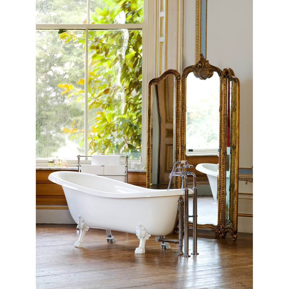 Victoria And Albert Free Standing Soaking Tubs item ROX-N-SW-OF + FT-ROX-SW