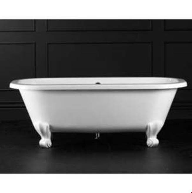 Victoria And Albert Free Standing Soaking Tubs item RIC-N-xx-OF + FT-RIC-xx