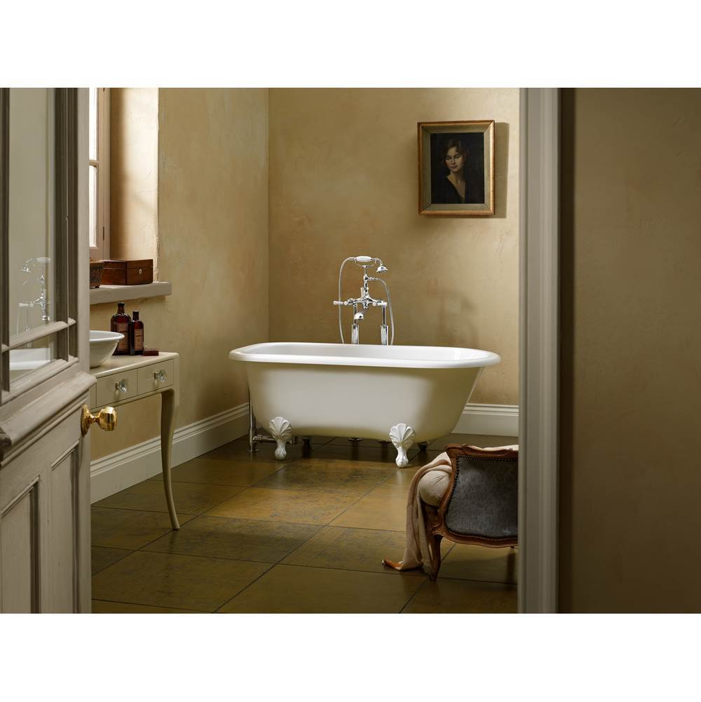 Victoria And Albert Free Standing Soaking Tubs item WES-N-SW-OF + FT-HAM-SW