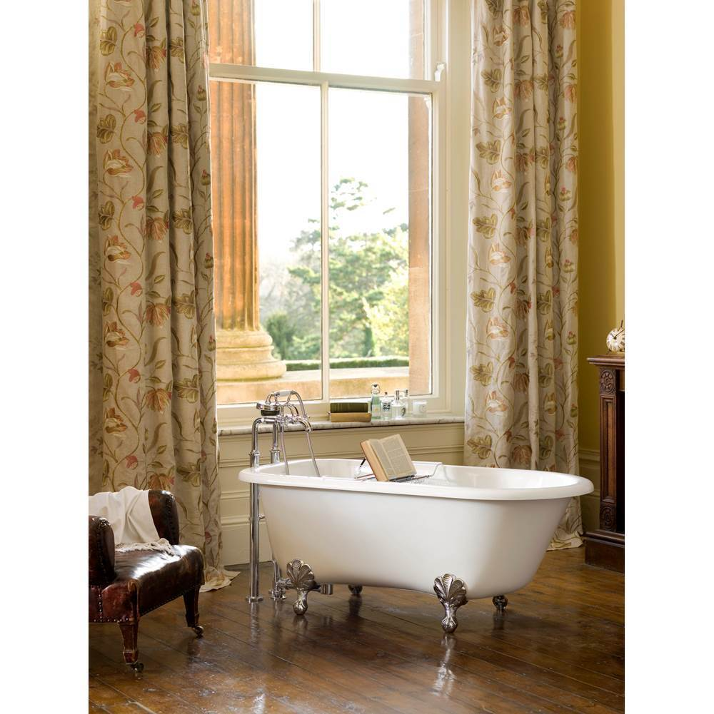 Victoria And Albert Free Standing Soaking Tubs item WES-N-SW-OF + FT-HAM-PC
