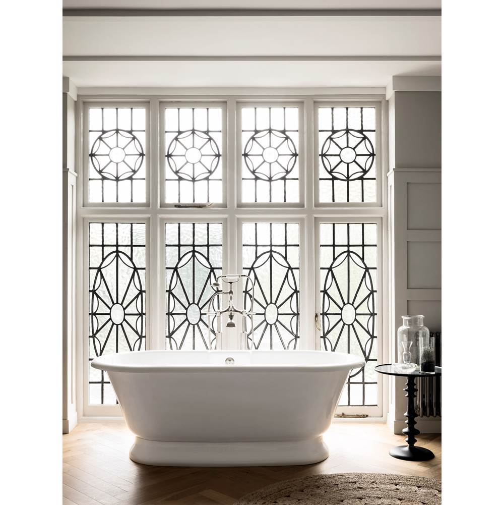 Victoria And Albert Free Standing Soaking Tubs item YOR-N-SW-OF + YOR-B-SW