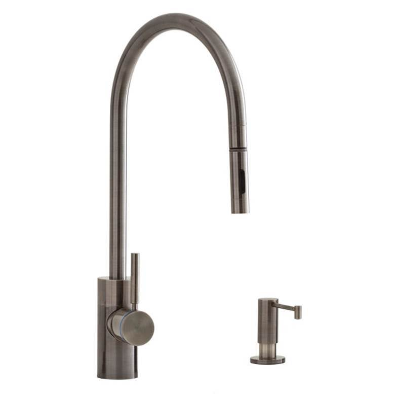 Waterstone Single Hole Kitchen Faucets item 5300-4-PN