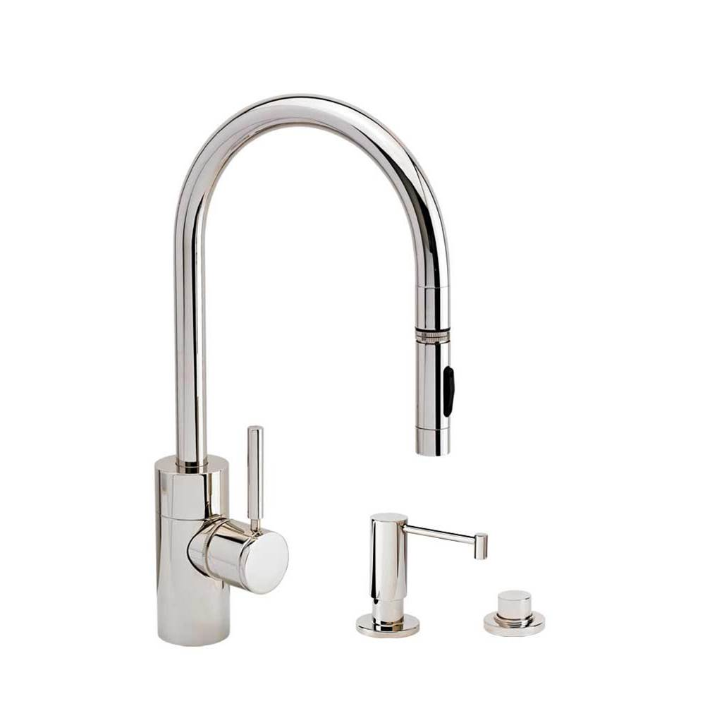 Waterstone Retractable Faucets Kitchen Faucets item 5400-3 WB