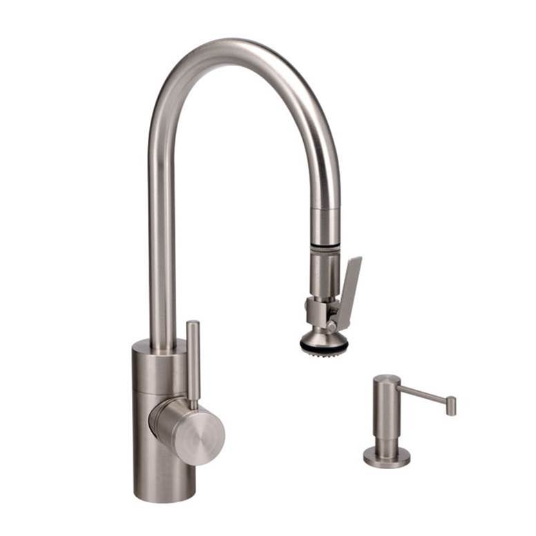 Waterstone Single Hole Kitchen Faucets item 5800-3-SN