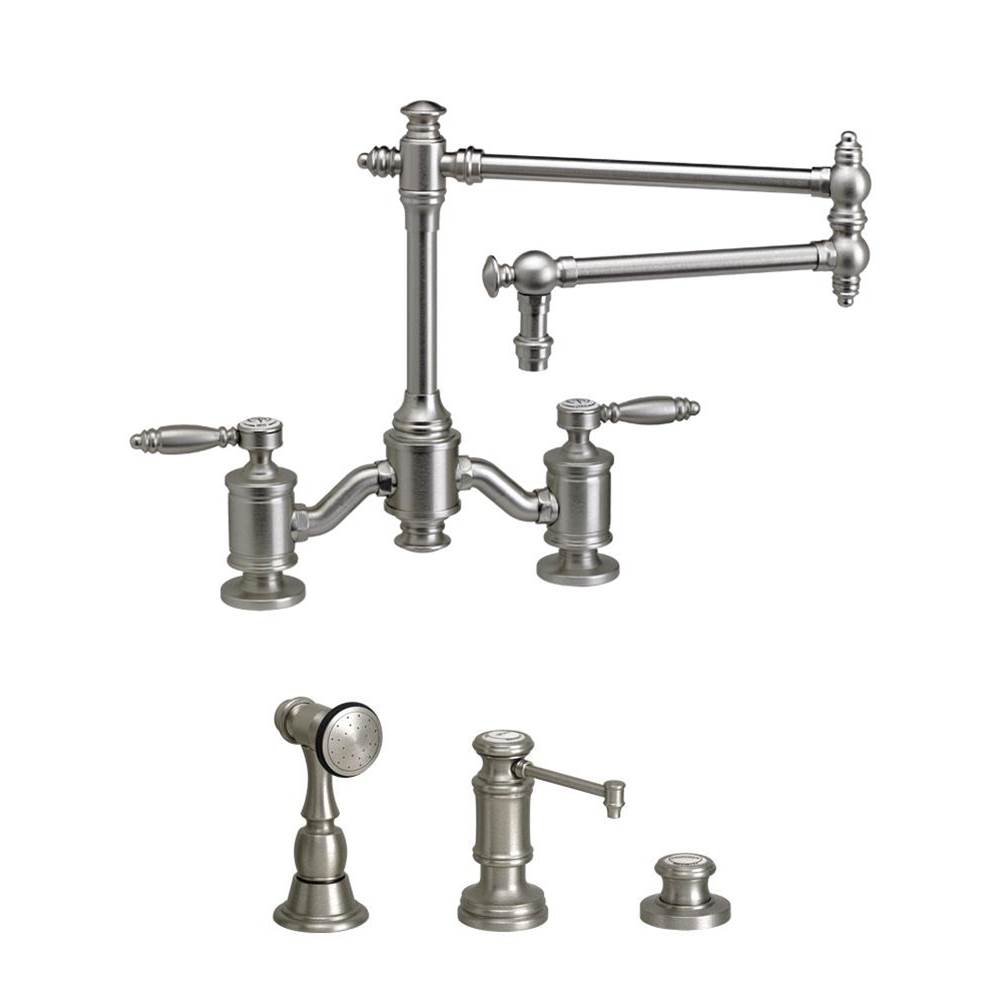 Waterstone Bridge Kitchen Faucets item 6100-18-3 ORB